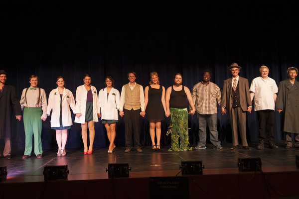 Graceland university little shop of horrors cast