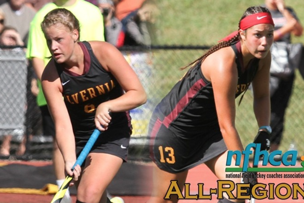 Fh margaret wentzel and andrea wysocki were named to the longstrethnfhca division iii south atlantic all region team