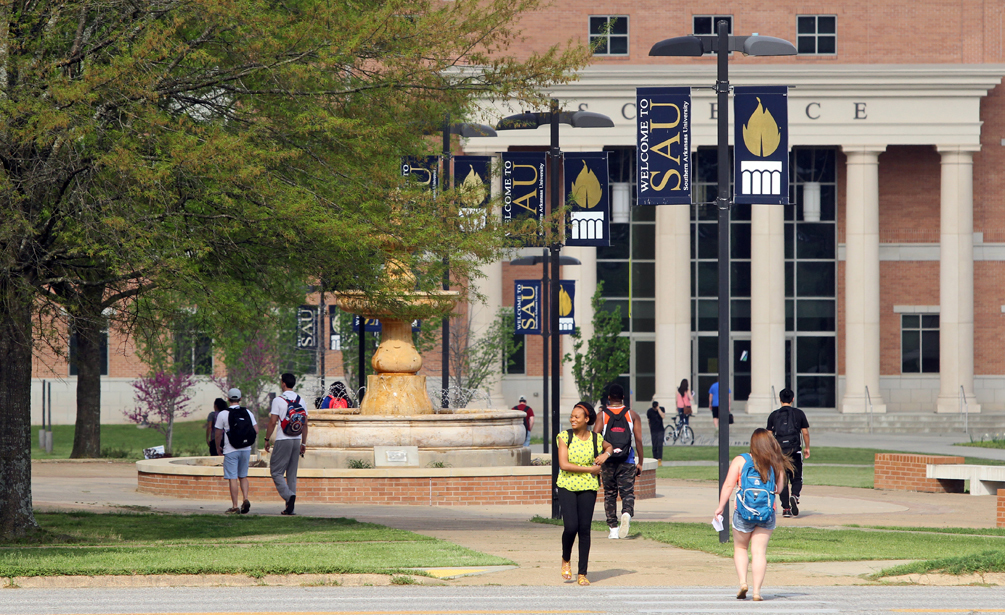 Sau enrollment   campus life