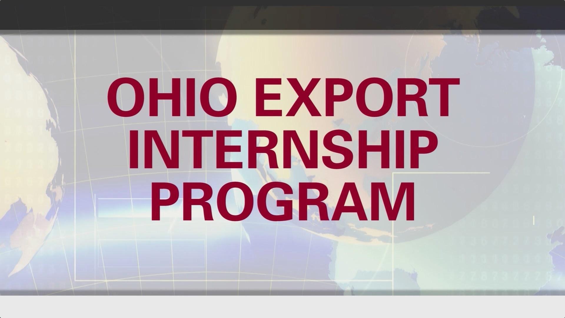 Ohio export internship program