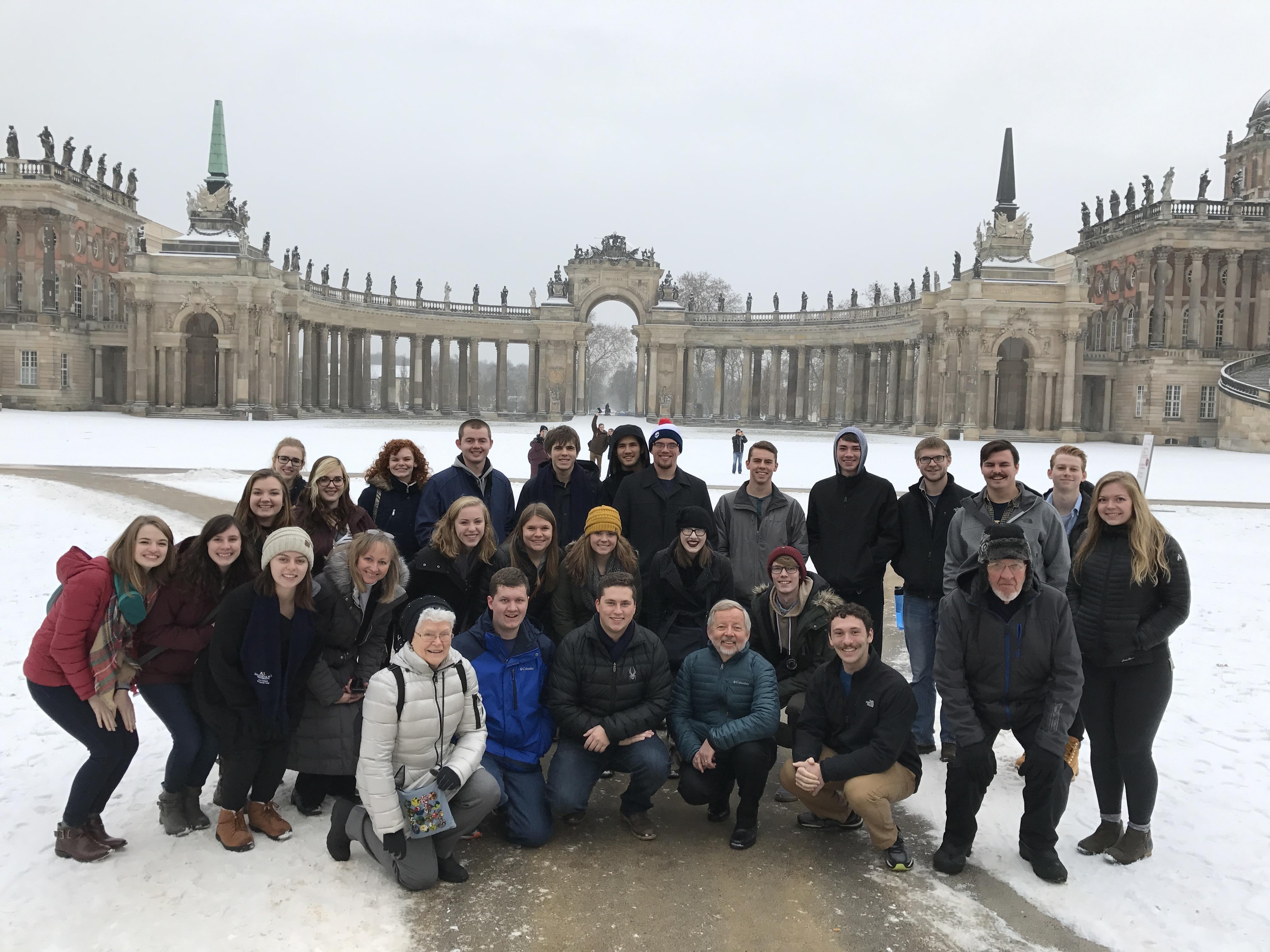 Potsdam palace
