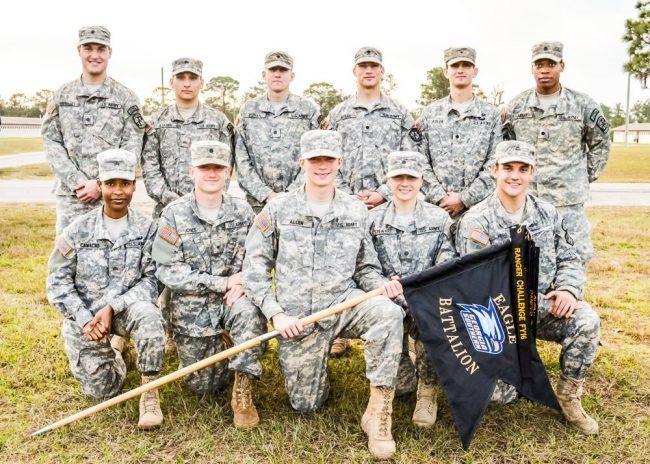 Ranger challenge team