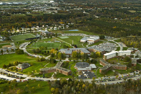 Husson university 104 aerial larry ayotte