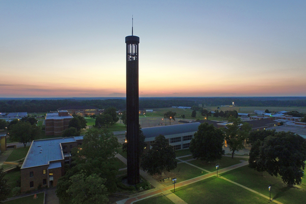 Sau bell tower sunset