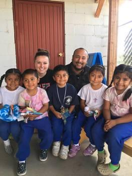 Nursing mission trip group