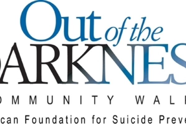 Out of the darkness walk logo