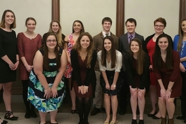 Psi chi inductees 2017