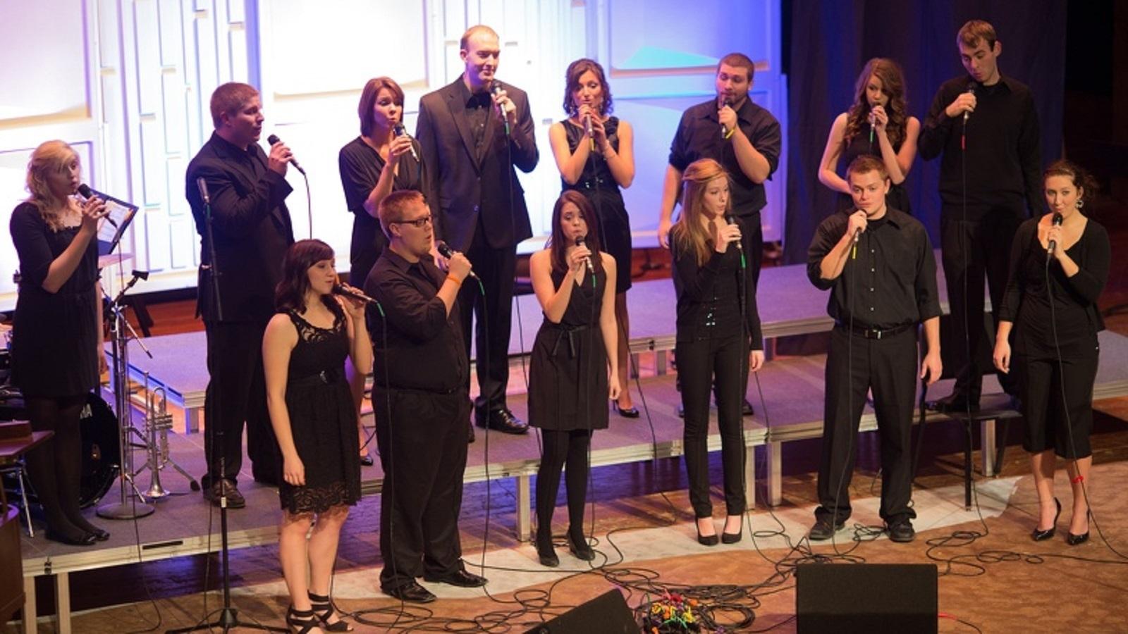 Vocal jazz choir