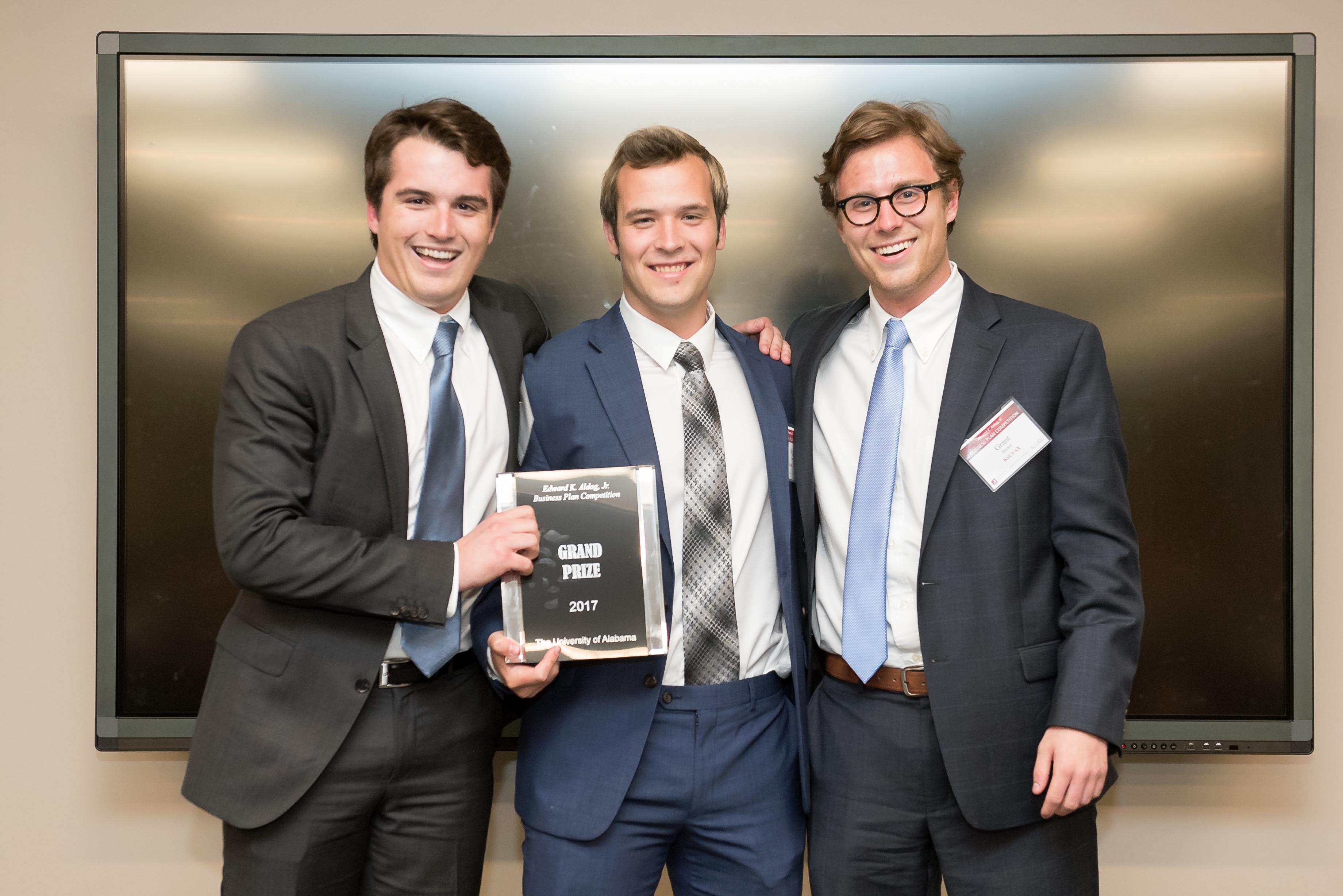Aldag business plan awards 01