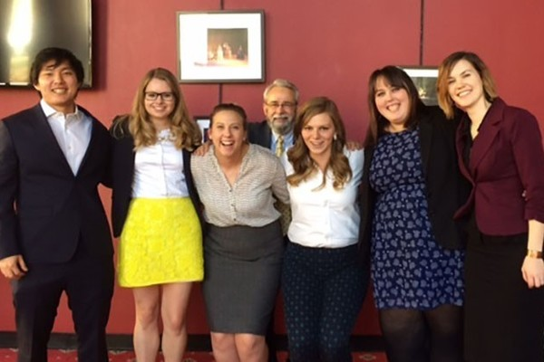 Sociology students take prizes at regional symposium