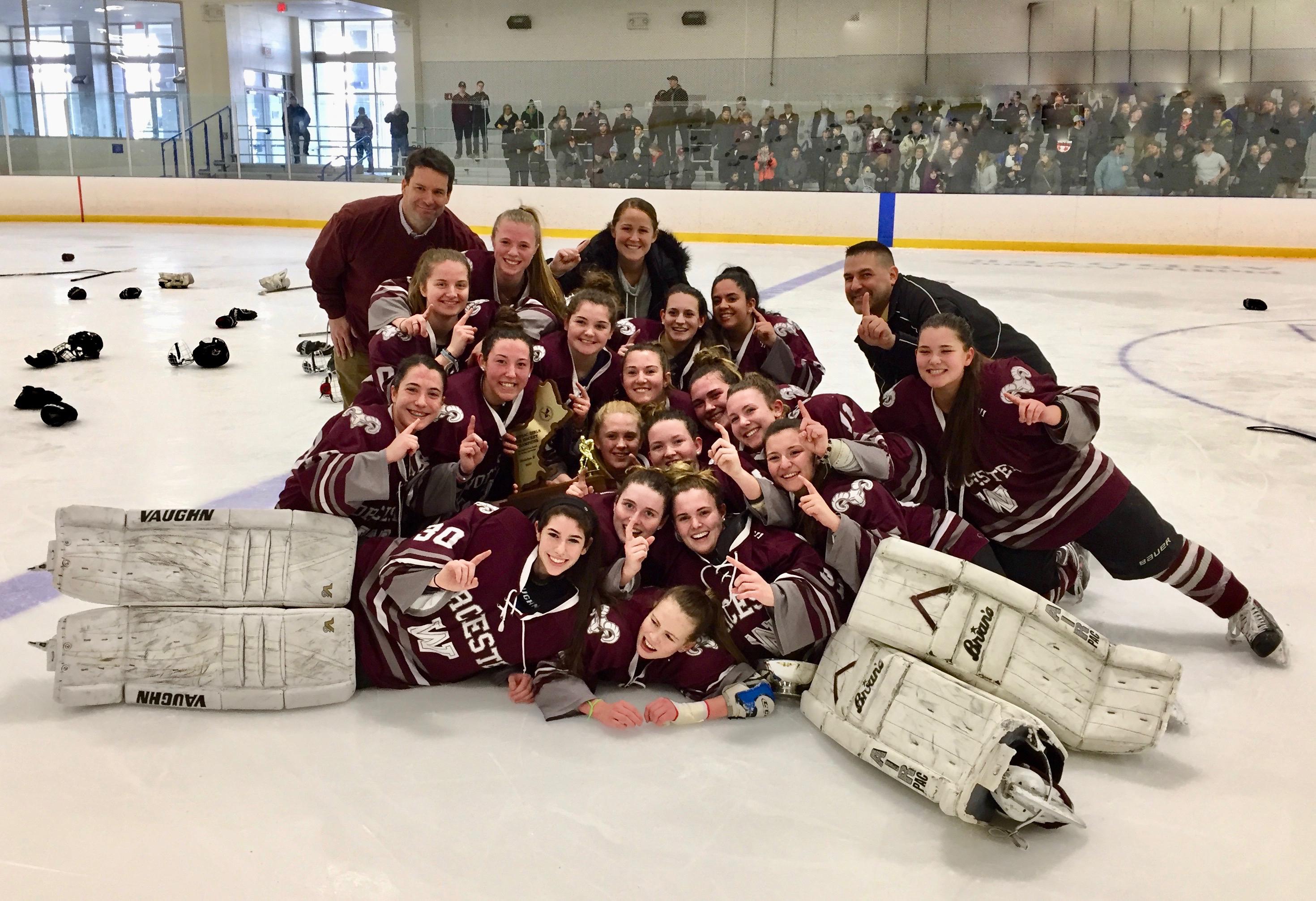 Girls hockey champs