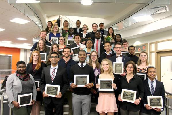 Leadership award and scholarship recipients 2017