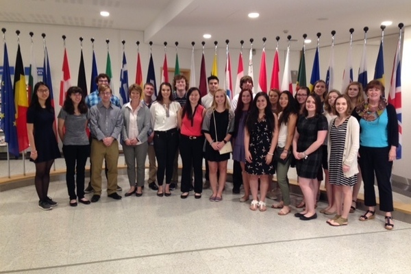Treva maastricht tour at eu parliament bus 275  politics summer 2016