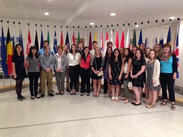 Treva maastricht tour at eu parliament bus 275  politics summer 2016