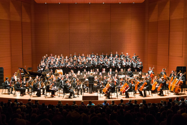 Choir symphony orchestra