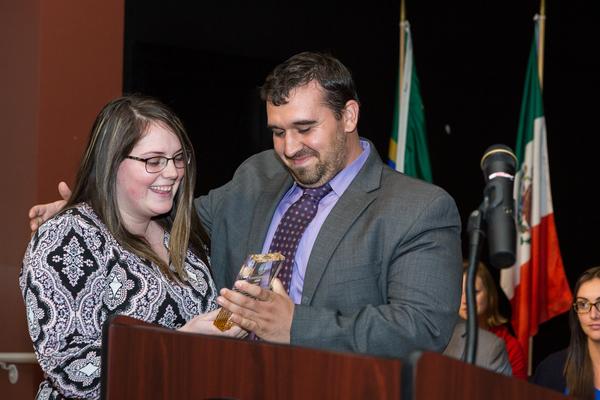 Henrietta littlefield award recipient sierra naughton