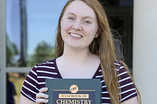 Sau biochem chem outstanding freshman   whitney austin sp17