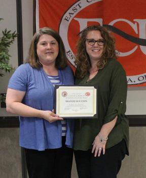 Brandii houchin   clayton a. morgan rehab leadership award