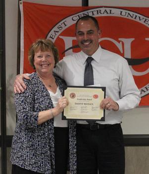 Danny maylen   counseling leadership award