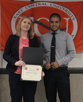 Francisco valdez   criminal justice student of the year