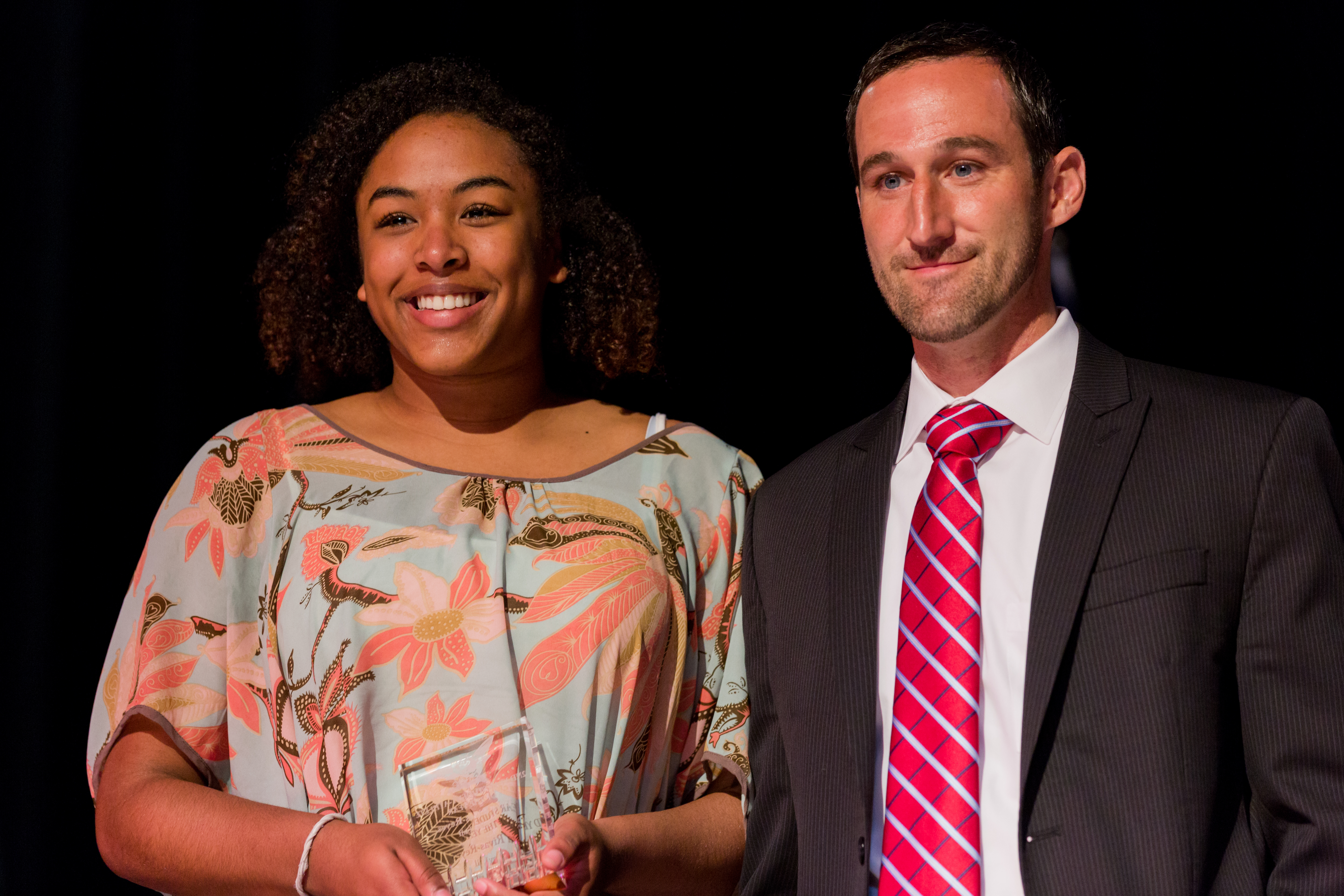 Diva rivas reyes second year student athlete of the year