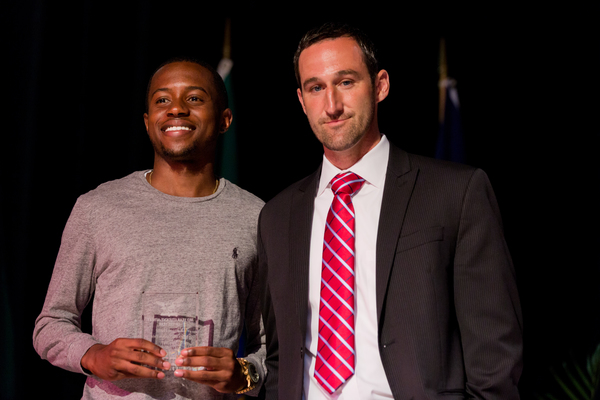 Kemani hume third year male student athlete of the year