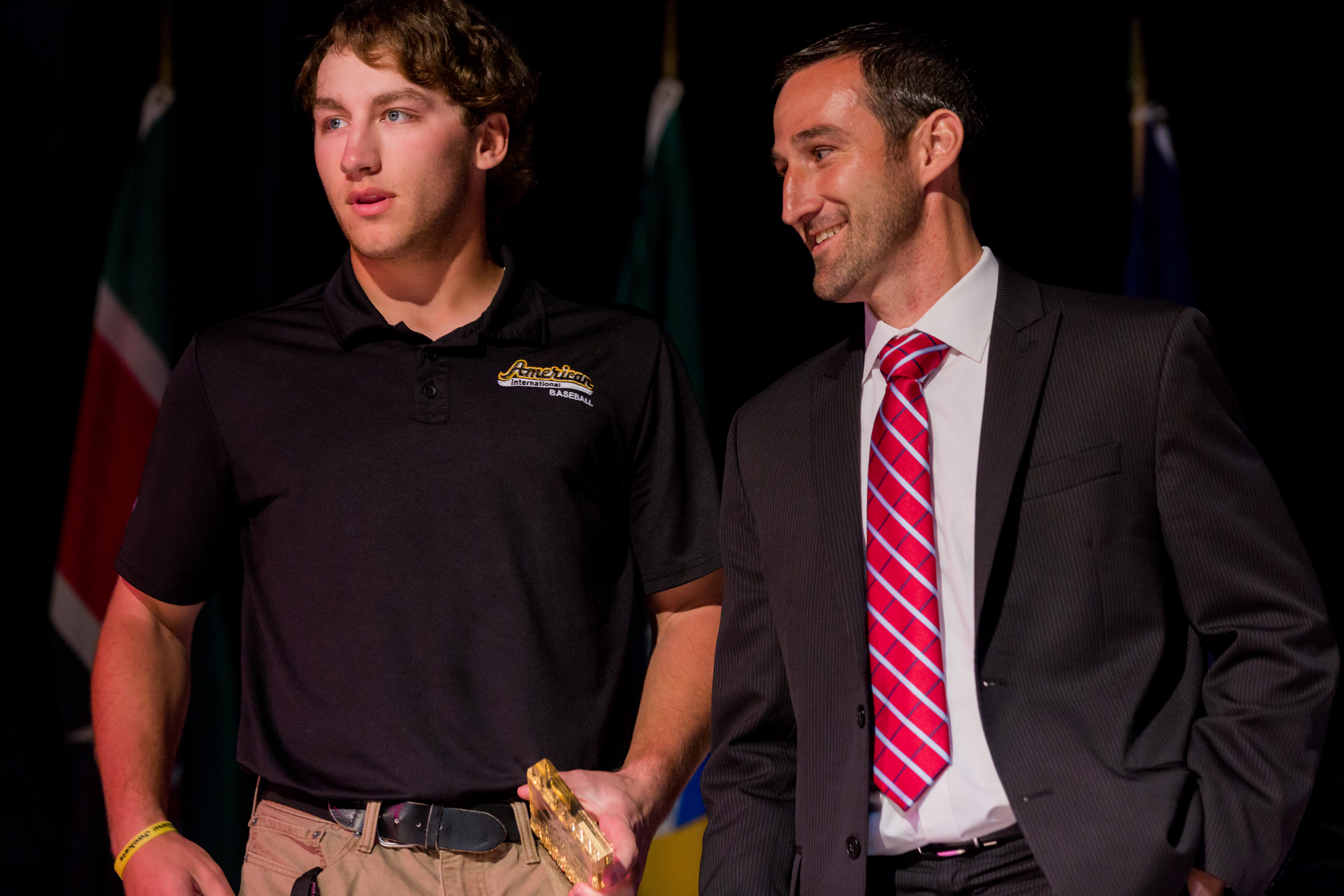Matt krause first year male student athlete of the year