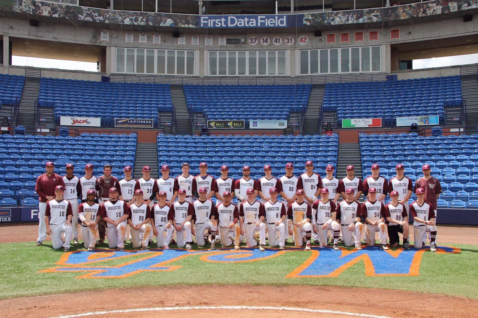 Championship baseball team