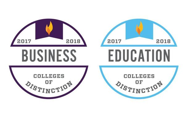 Colleges of distinction badges