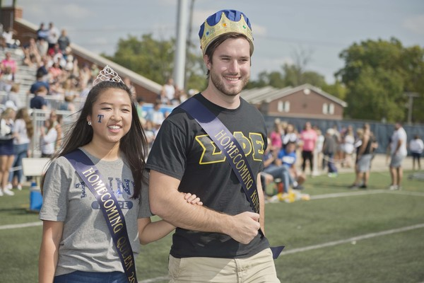 2017 trine homecoming royalty full