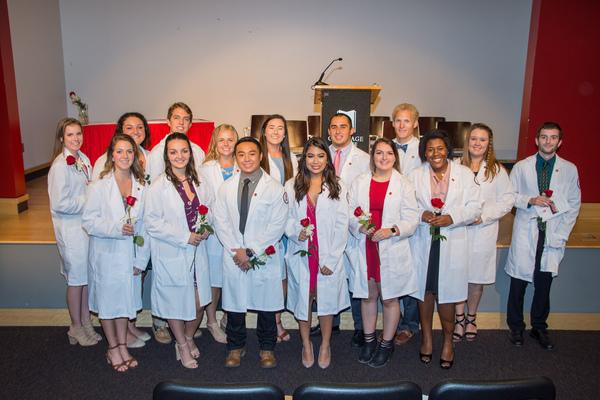 Nursing white coat ceremony 2017