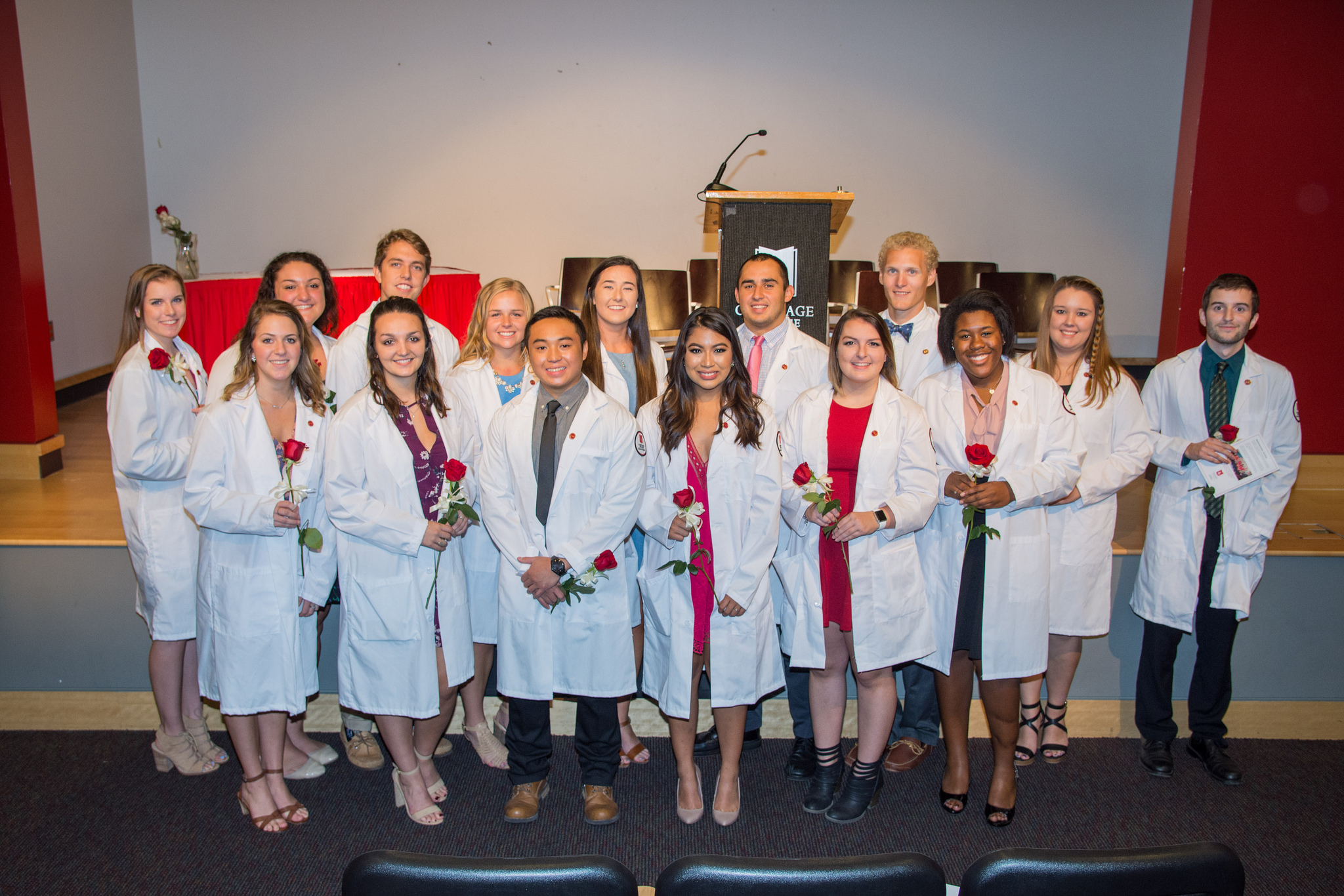 Nursing white coat ceremony 2017