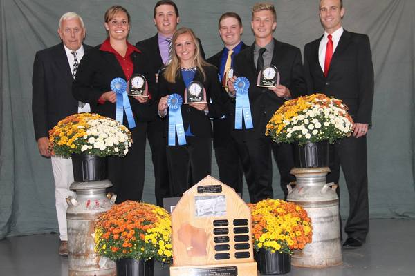 2017 high team overall at 24th annual intercollegiate dairy cattle