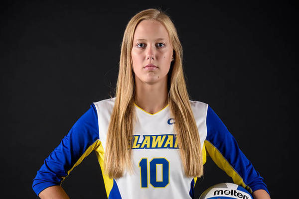 Julia hayes caa player of week