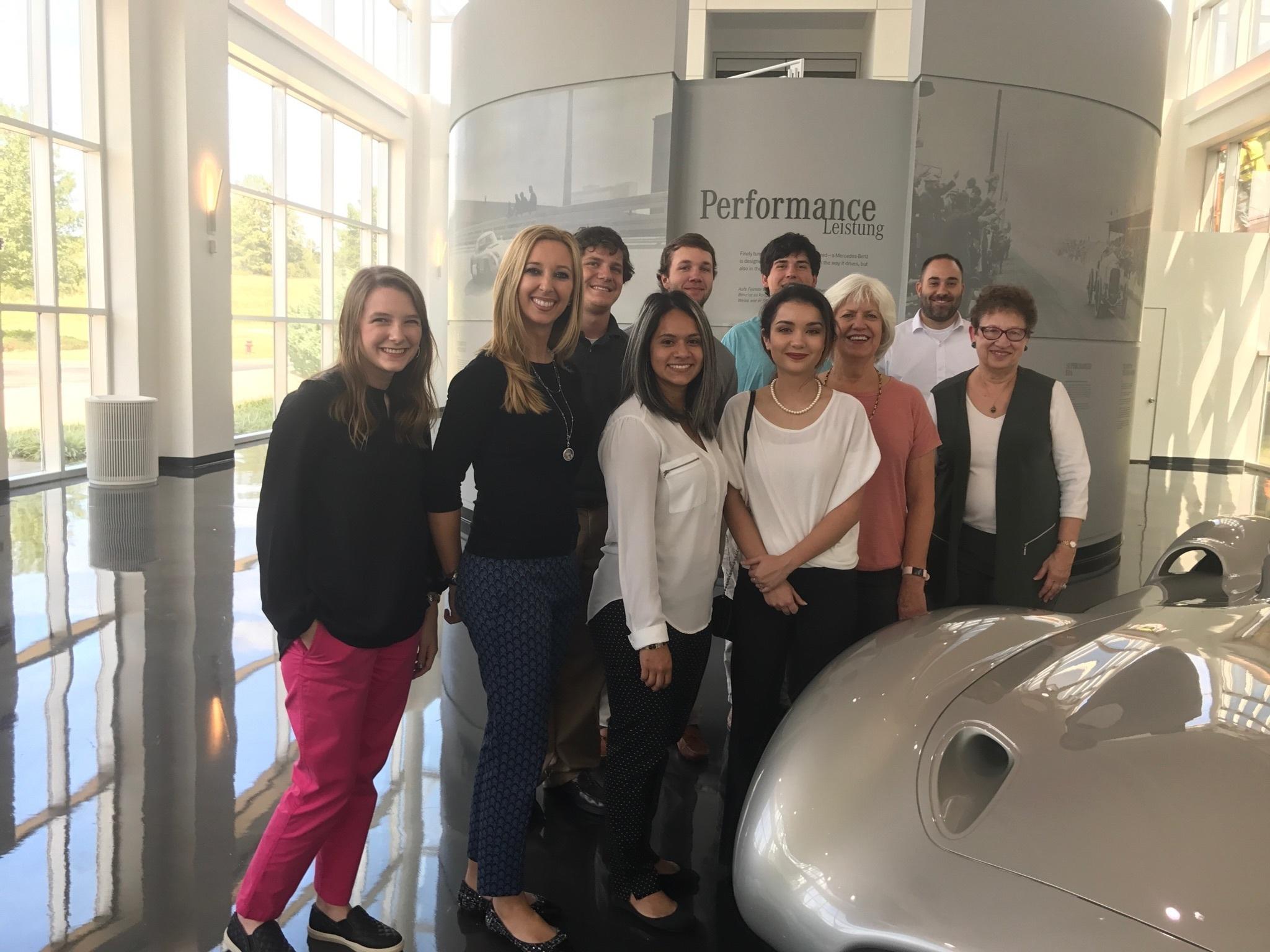 Mercedes tour