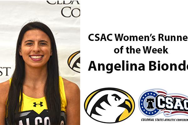 Angelina runner of the week