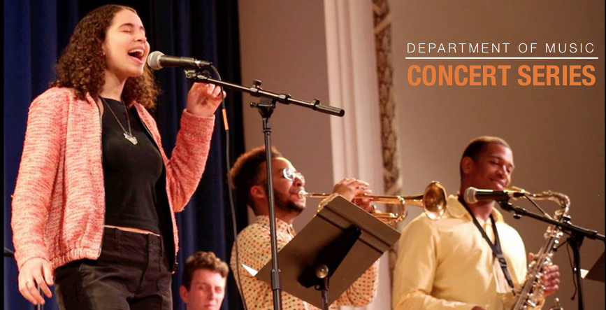 Concert series banner