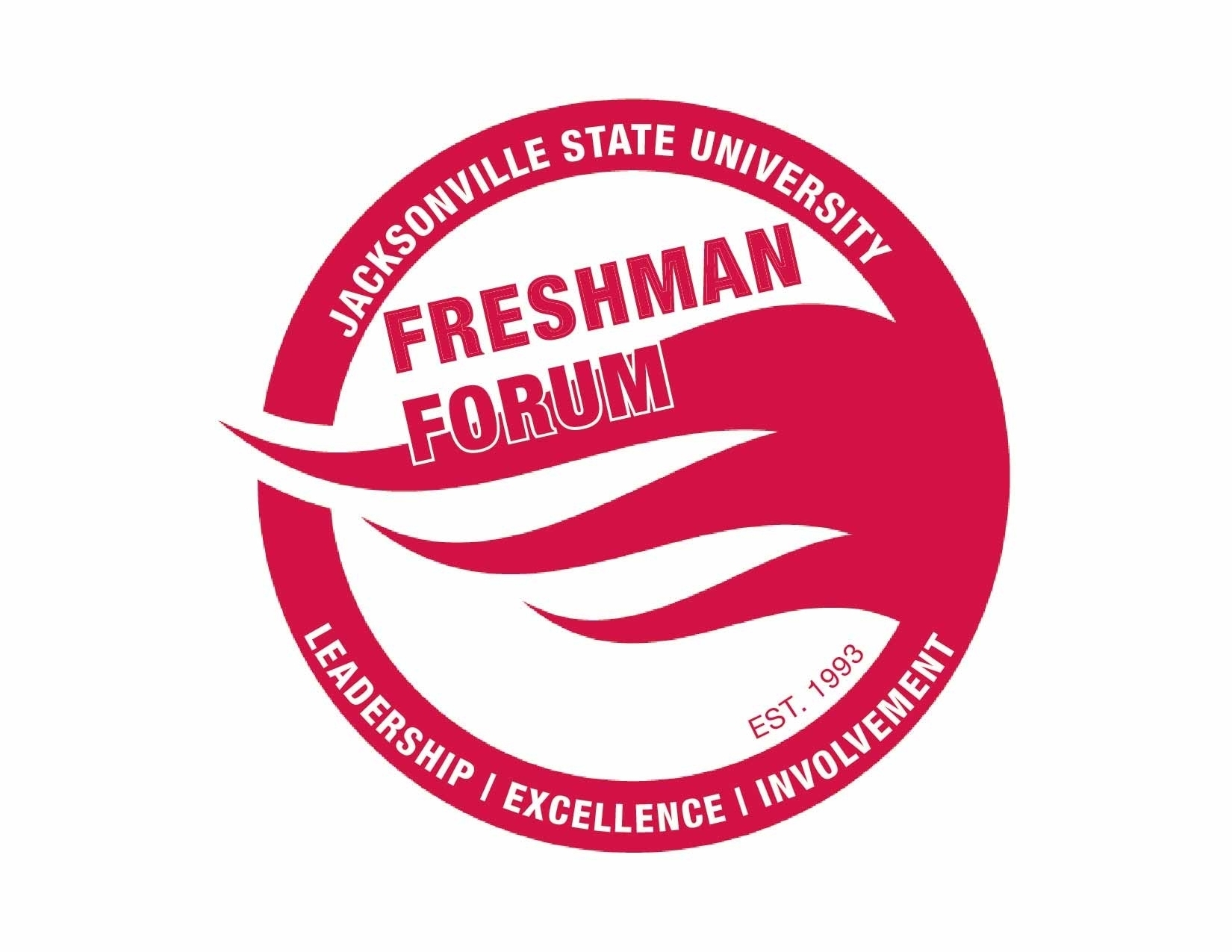 Freshman forum logo red