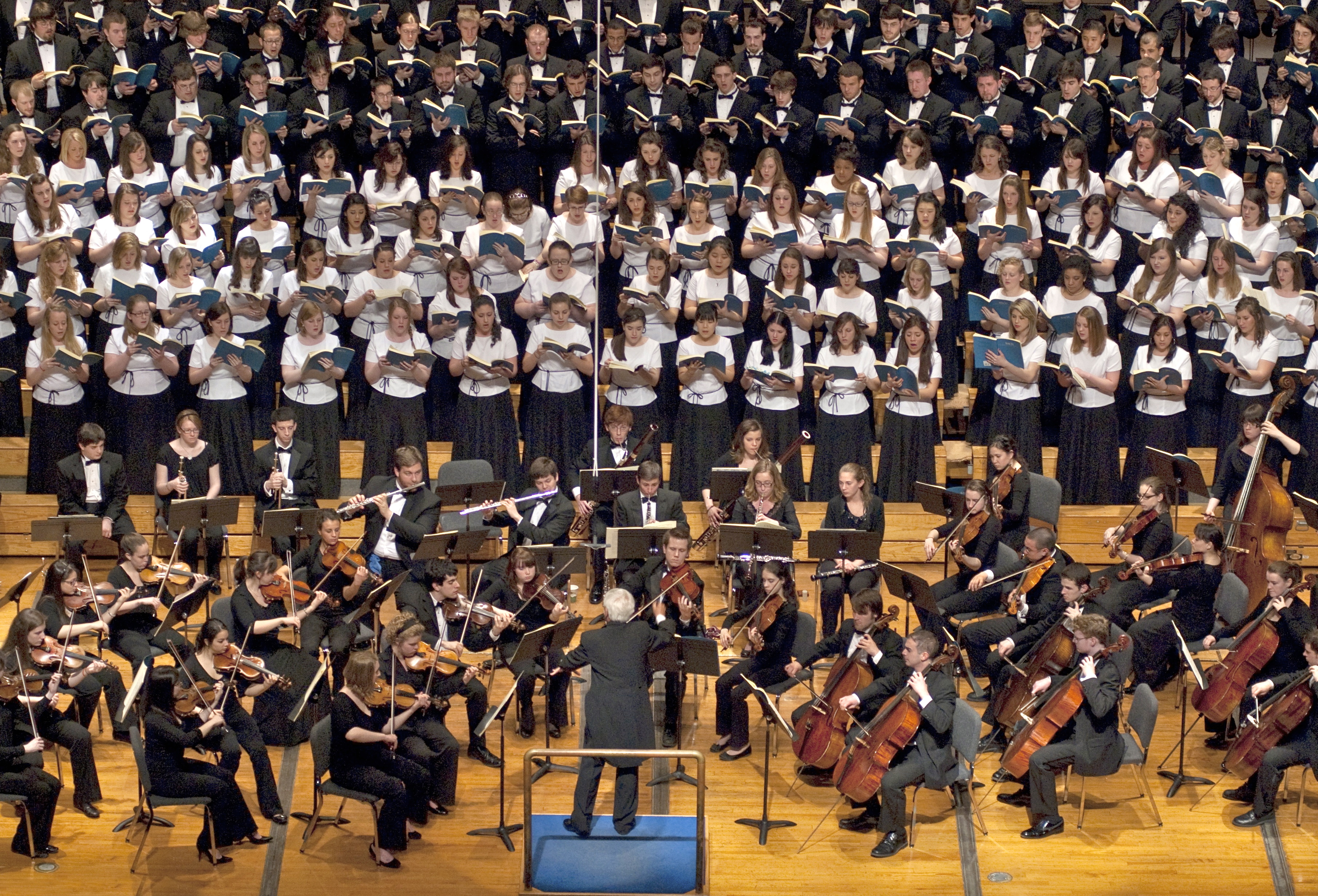 Crane chorus symphony orchestra
