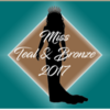 Miss teal  bronze backdrop