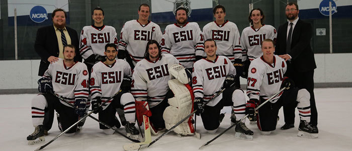 Esu ice hockey team