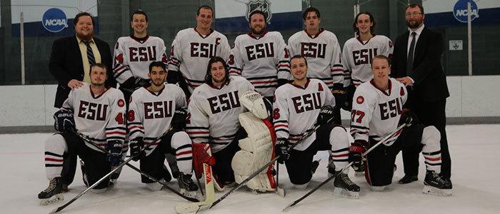 Esu ice hockey team