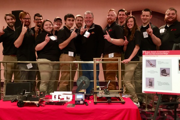 2017 11 itech places 3rd asabe robot competition