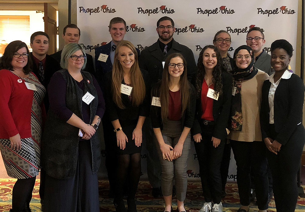 Propel ohio 2017 ysu delegation