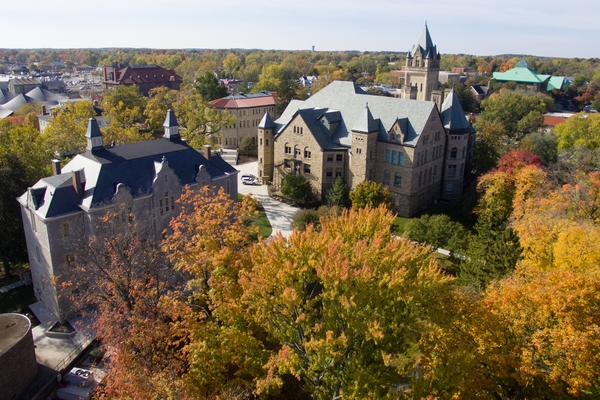 Ohio wesleyan fall campus