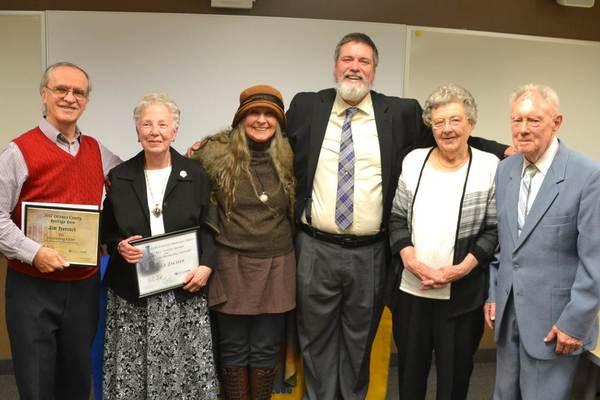 Orleans county 2017 heritage heroes