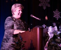 Chancellor at snowflake serenade