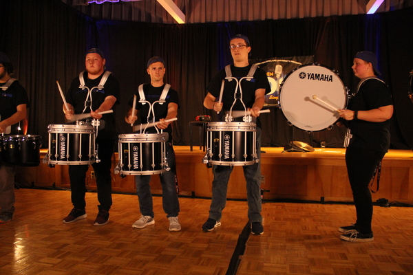 University drumline group