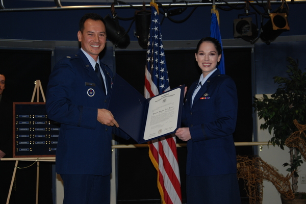 Kaitlynne young rotc commissioning
