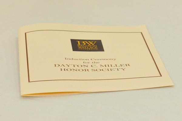 Dayton c miller program